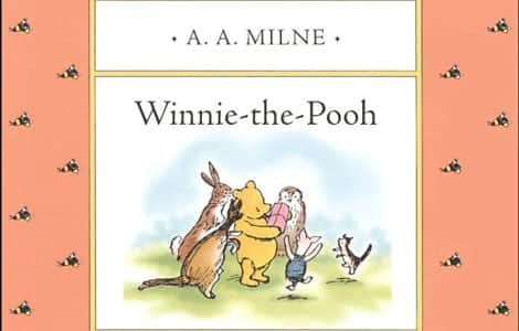 Part of the cover of Winnie-the-Pooh by A.A. Milne