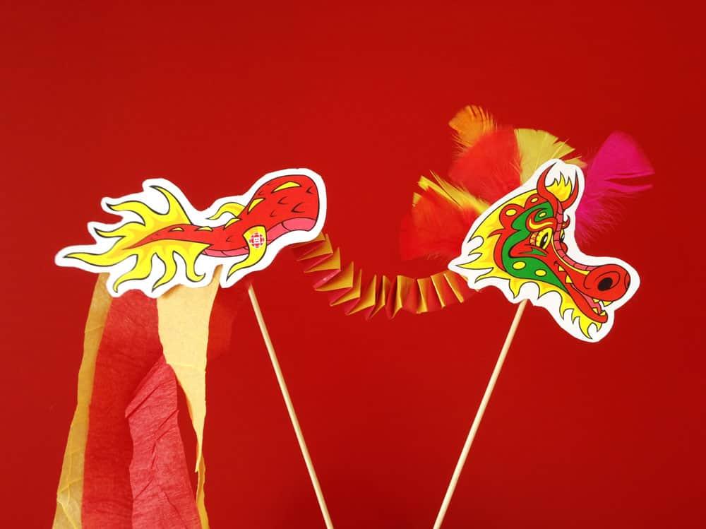 Chinese New Year Preschool Crafts