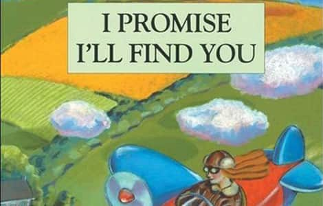 Part of the cover of I Promise I'll Find You