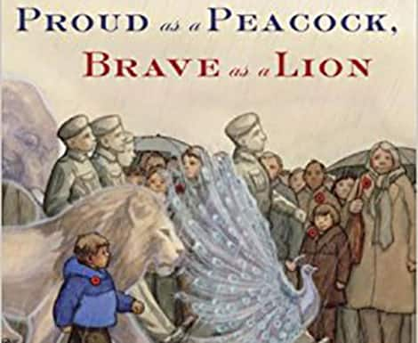 Book cover: Proud as a Peacock, Brave as a Lion (Jane Barclay and Renné Benoit)