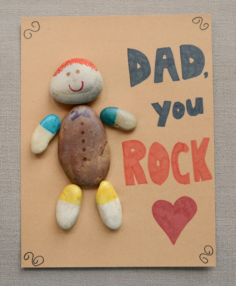 Dad Rocks Father S Day Craft Play Cbc Parents