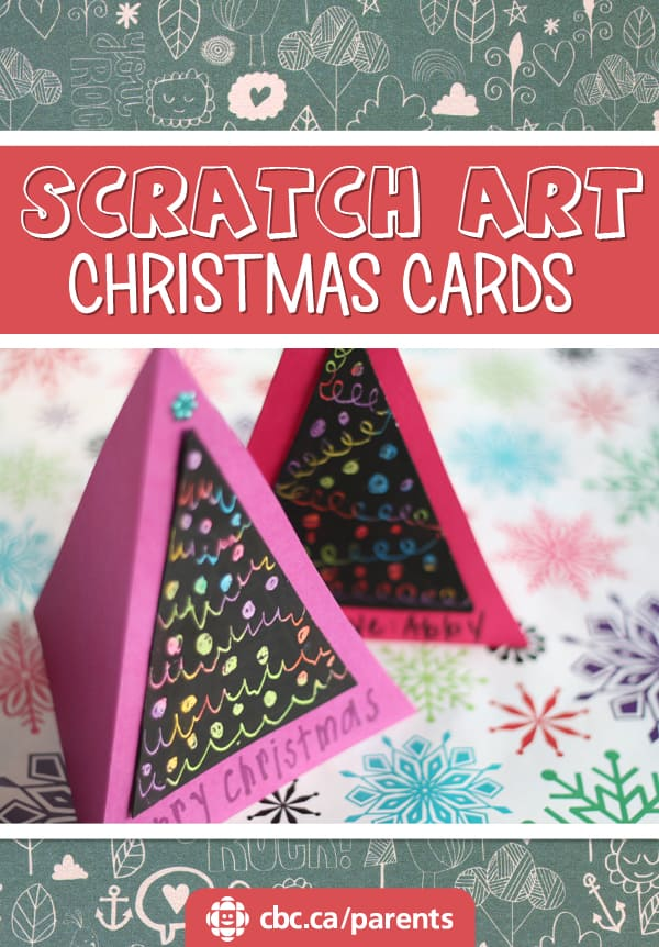 Scratch Art Christmas Cards | Play | CBC Parents