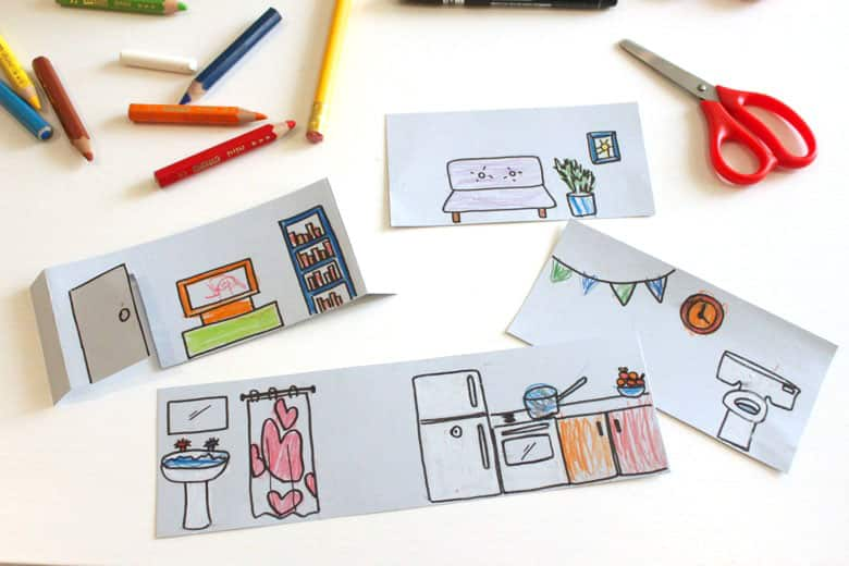 Upcycled Shoebox Dollhouse Activity Play Cbc Parents