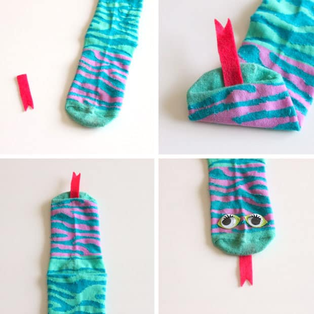 No Sew Sock Snake Stuffies Play Cbc Parents