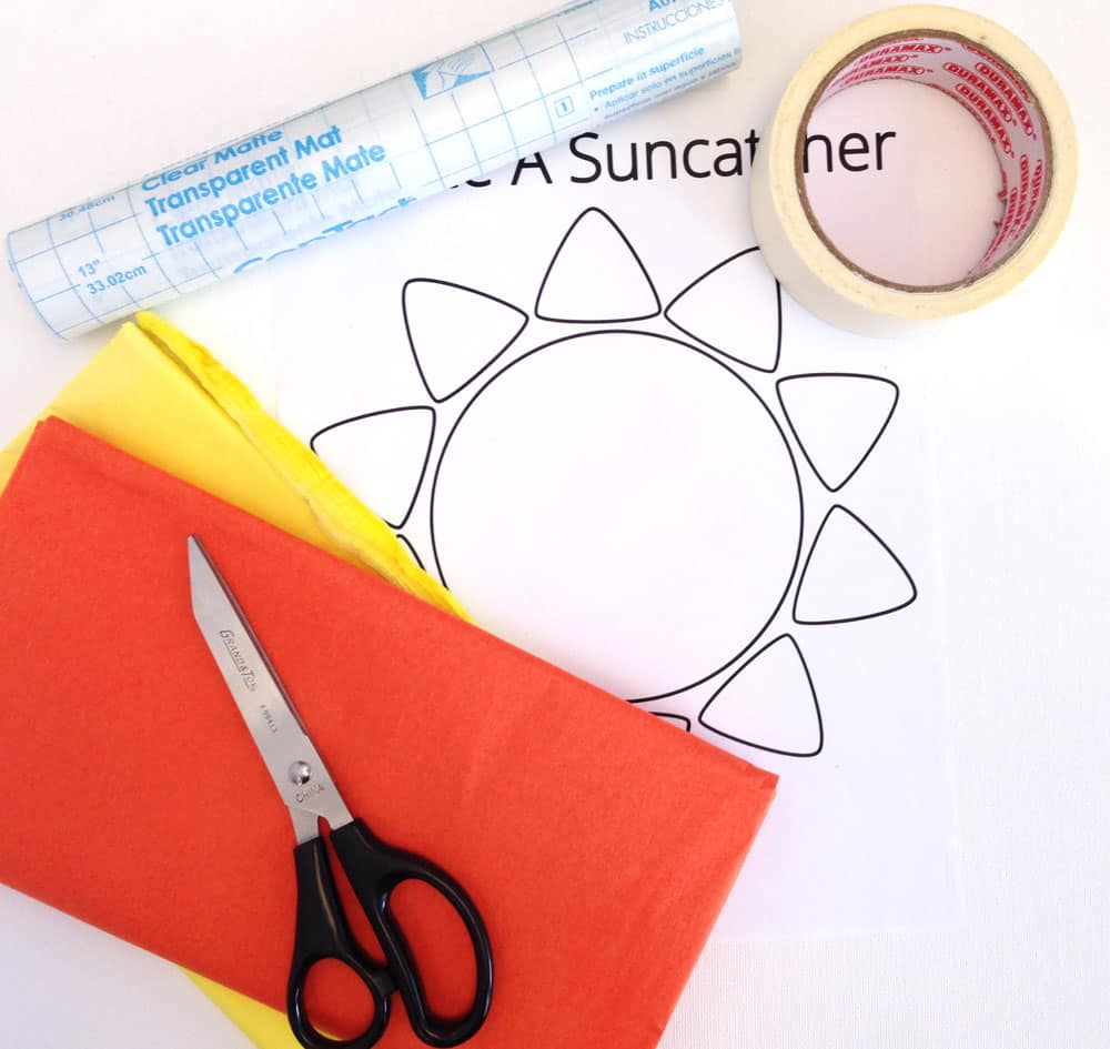 how to make tissue paper transparent