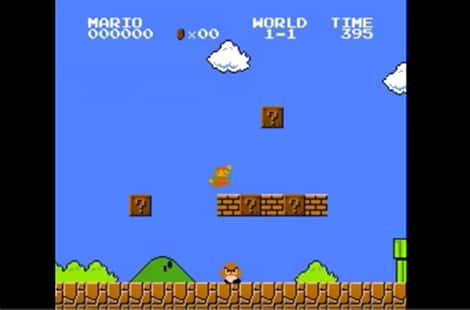 Super Mario Bros. game