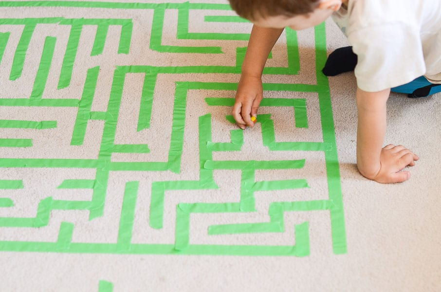 Image result for kids playing with mazes
