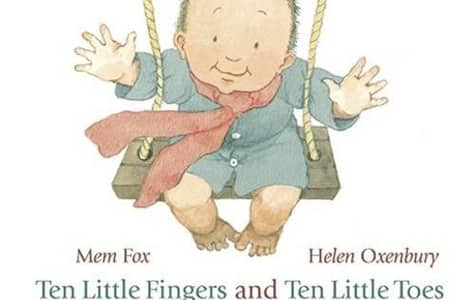 The cover of Ten Little Fingers and Ten Little Toes