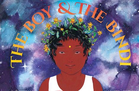 Book cover: The Boy & The Bindi by Vivek Shraya