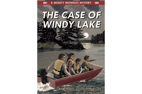 Book cover: The Case of the Windy Lake by Michael Hutchinson