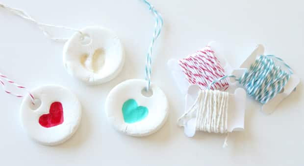 diy homemade clay ornaments for kids
