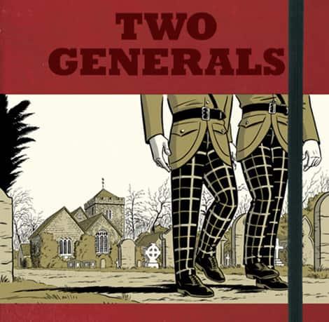 Book cover: Two Generals (Scott Chantler)