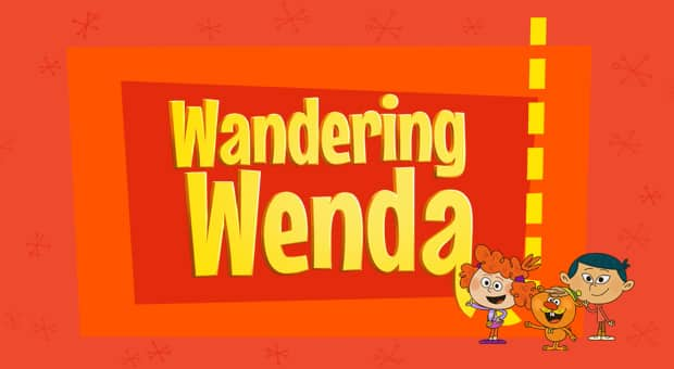 Title card for Wandering Wenda