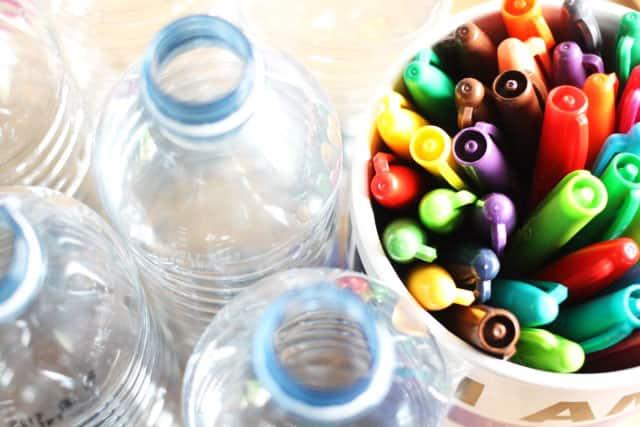 Water Bottle Wind Spirals