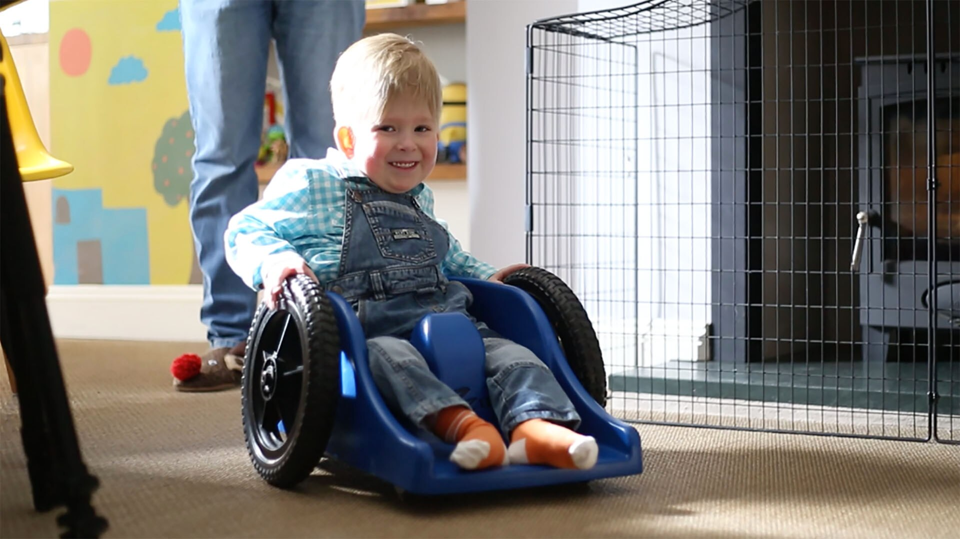 The boy born without a brain is now a practical joker who loves playing Mario Kart