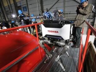 Radiation-proof robot