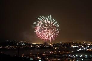 Quidi Vidi fireworks