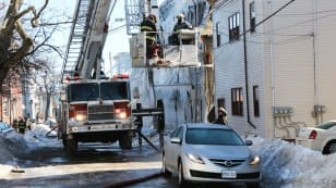 Mecklenburg Street fire