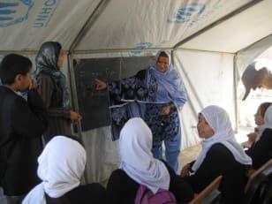 Building schools in Afghanistan