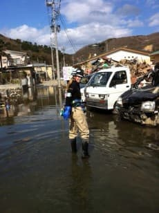 Tsunami volunteers