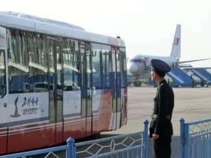 Pyongyang, five times daily