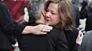 Alberta premier Alison Redford now leads Klein's Progressive Conservative Party