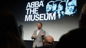 Bjorn introduces Abba's permanent exhibit
