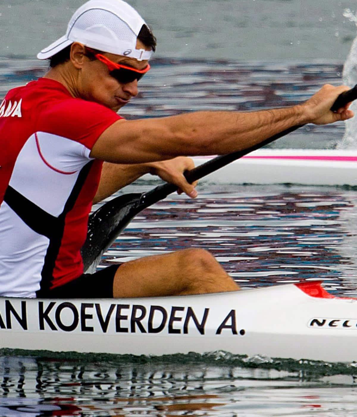 At his lowest, Adam van Koeverden uses conversation to cope