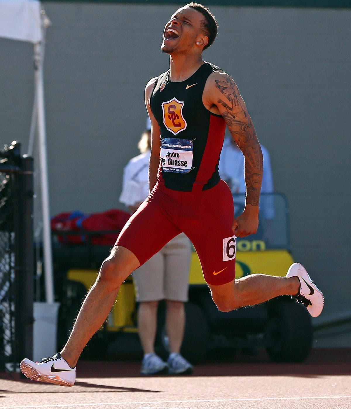 Andre De Grasse: What did I just do?