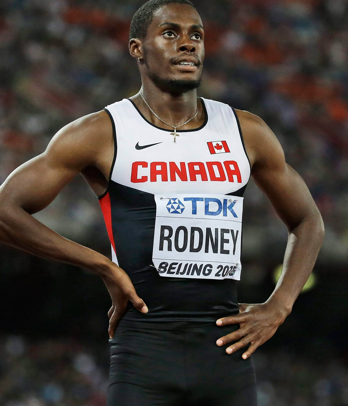 Sprinter Brendon Rodney declares love for his superwoman