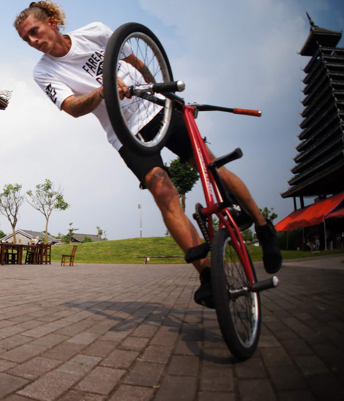 Jean William Prévost: How China became my BMX salvation
