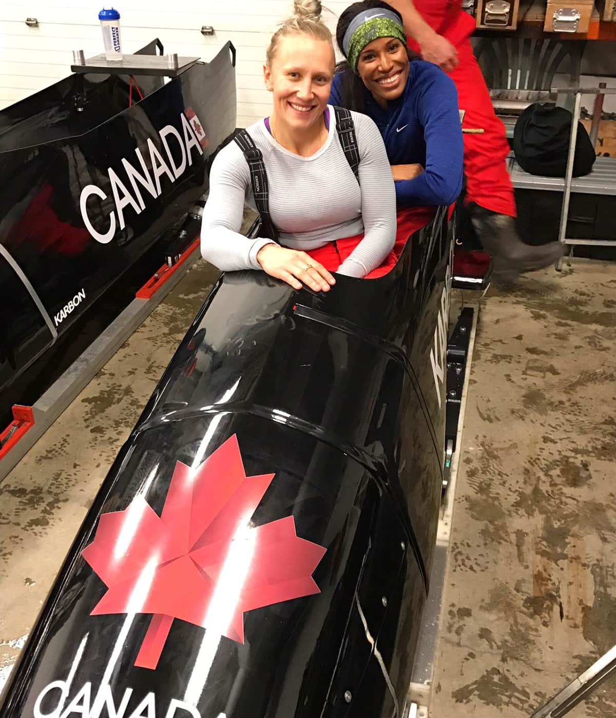 Why Olympic hurdler Phylicia George is jumping into Kaillie Humphries' bobsled