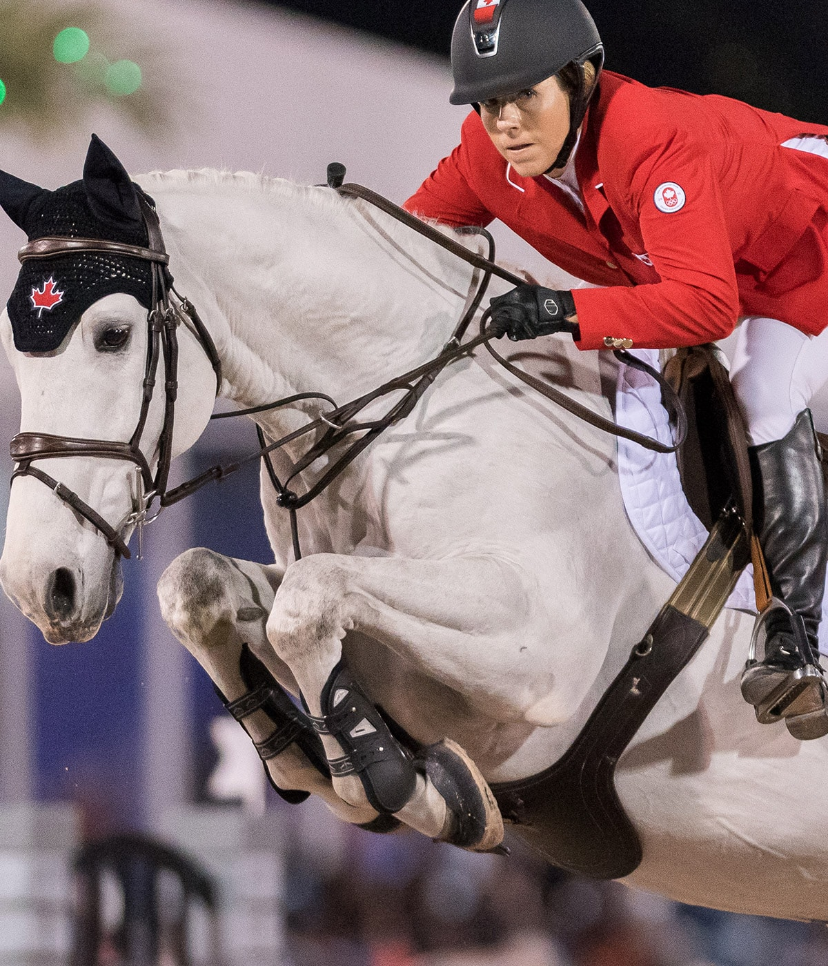 Elizabeth Gingras: The heartache and joy of show jumping