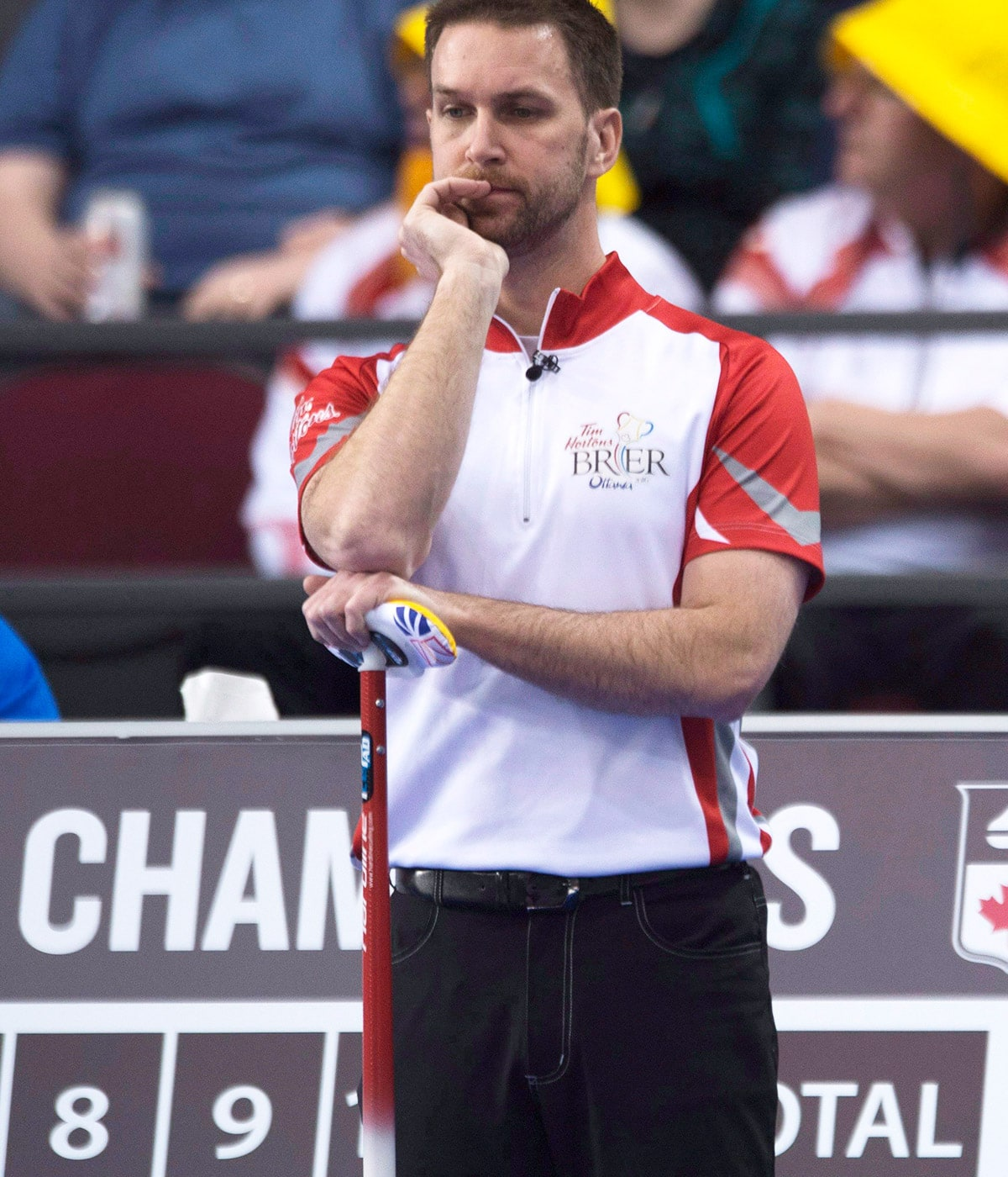 For 8 months, Brad Gushue didn't know when he'd throw another rock