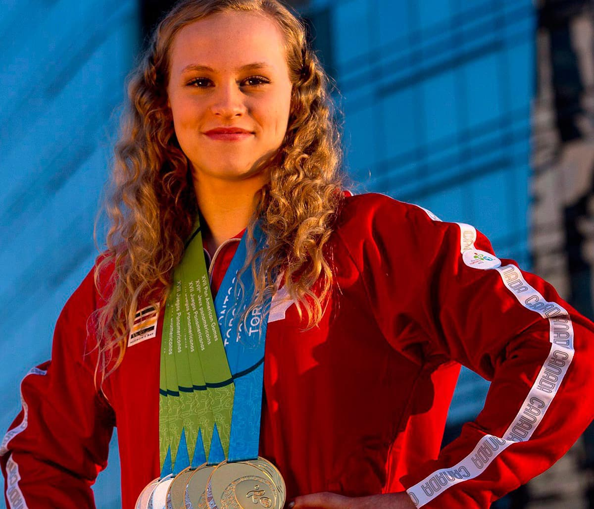 Ellie Black's Pan Ams 'a great stepping stone' on the road to Rio2016
