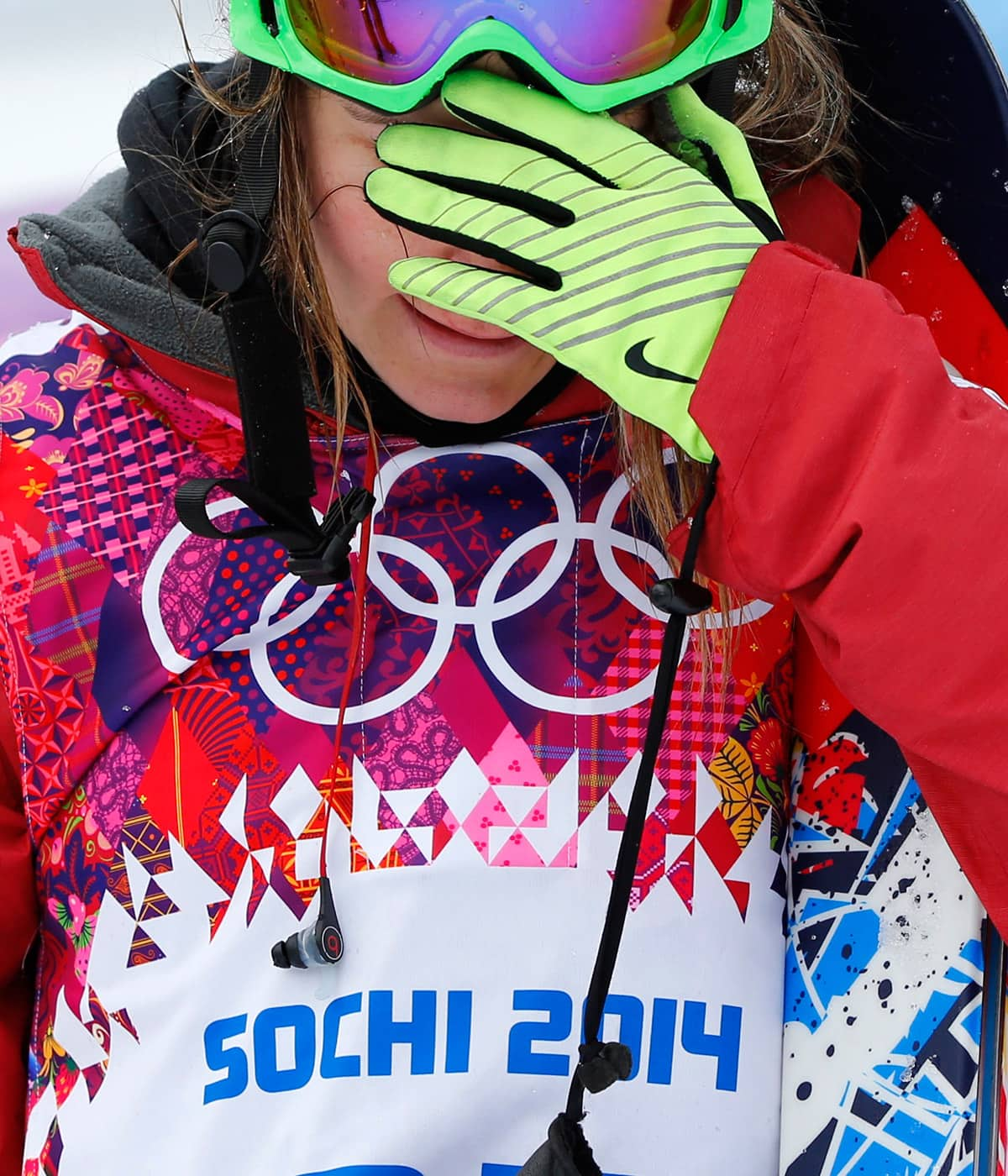 How do you forgive yourself for failing at the Olympics?