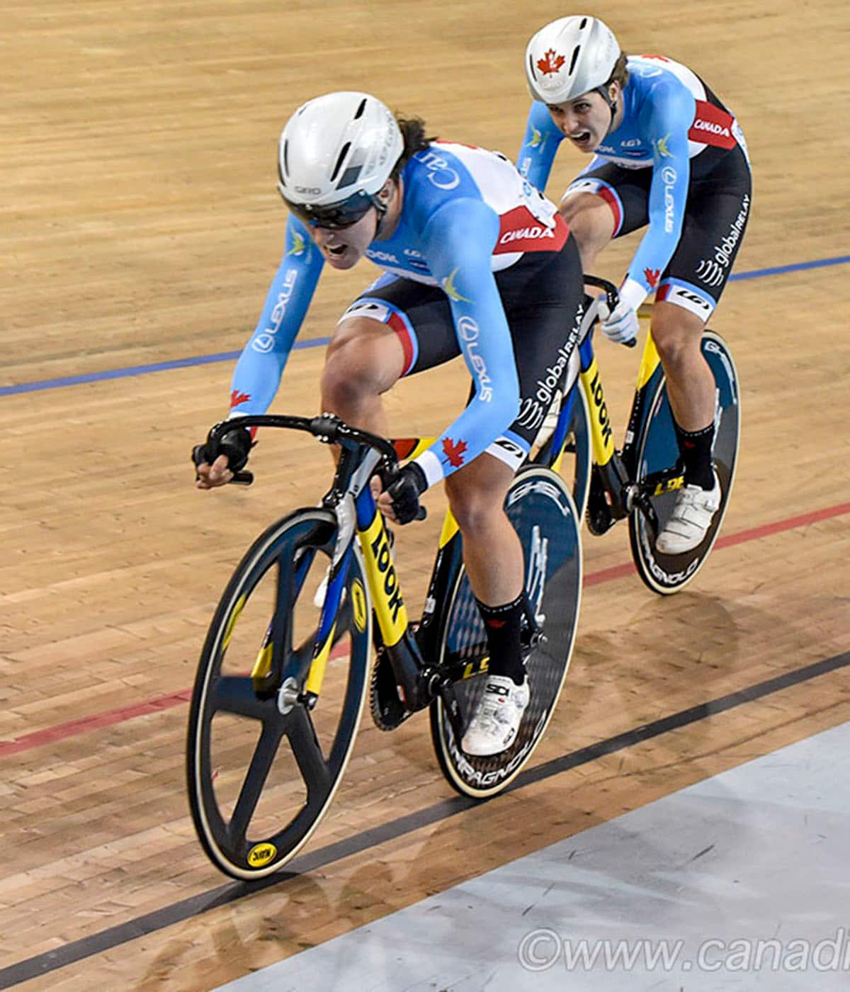 Kinley Gibson: Track cycling — a weird life but I love it