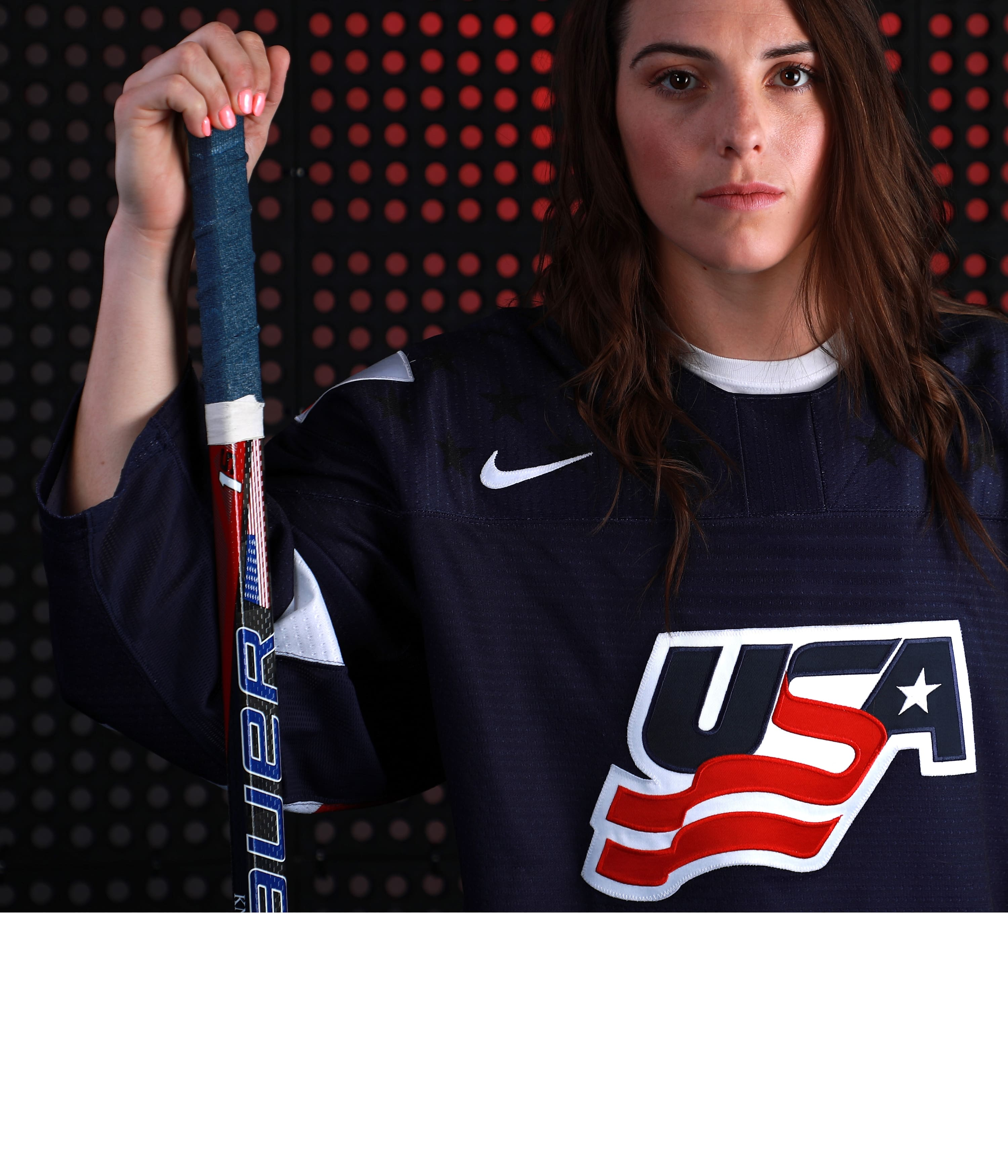We changed women's hockey