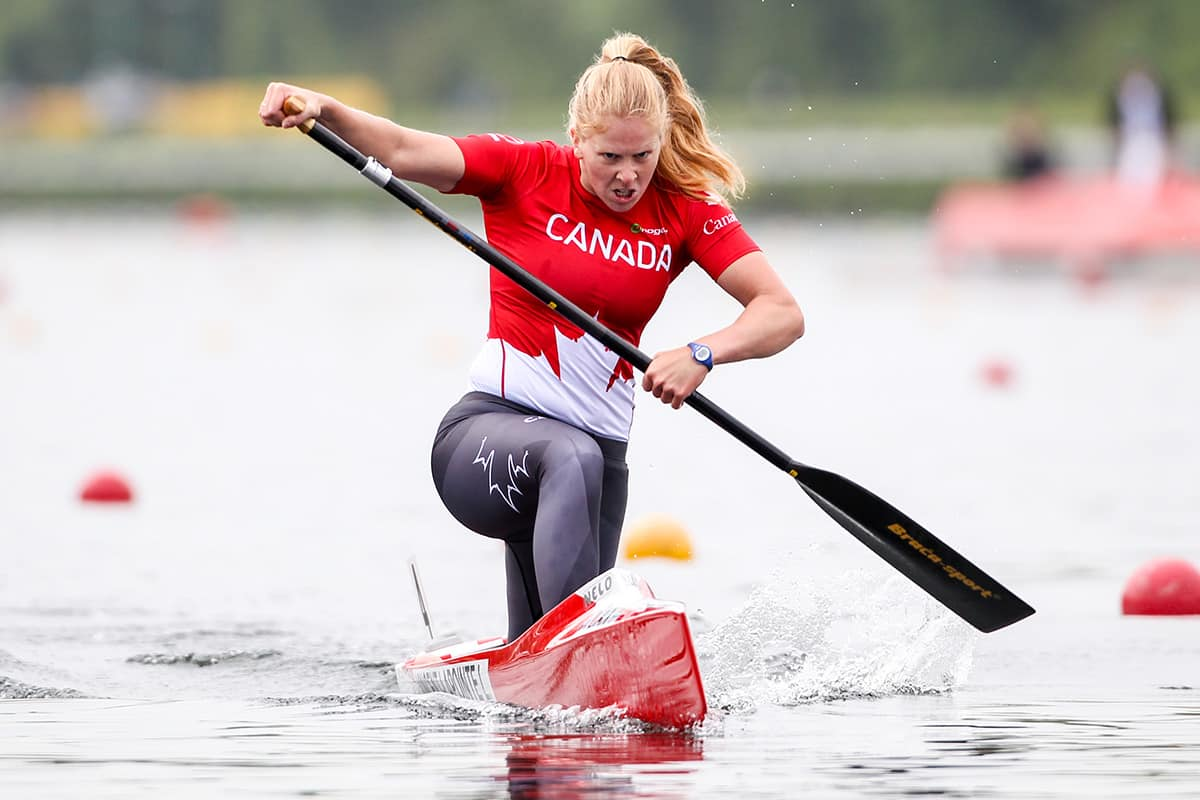 Laurence Vincent-Lapointe fights notion that canoeing is bad for women's bodies