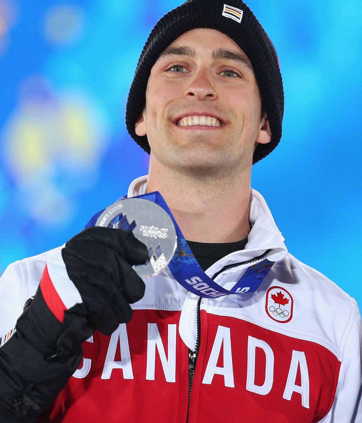 Meet Denny Morrison, the 'luckiest man' on skates