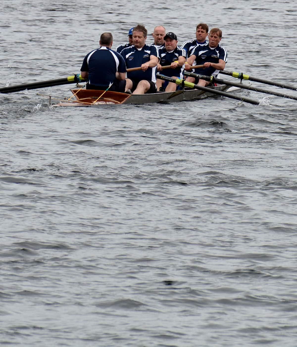 Hard ol' go: Rowing 200th Royal St. John's Regatta