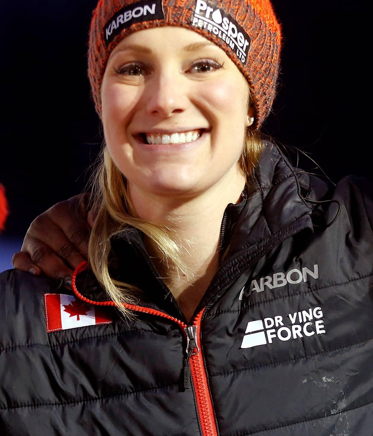 Alysia Rissling: I enjoy throwing myself down an icy chute