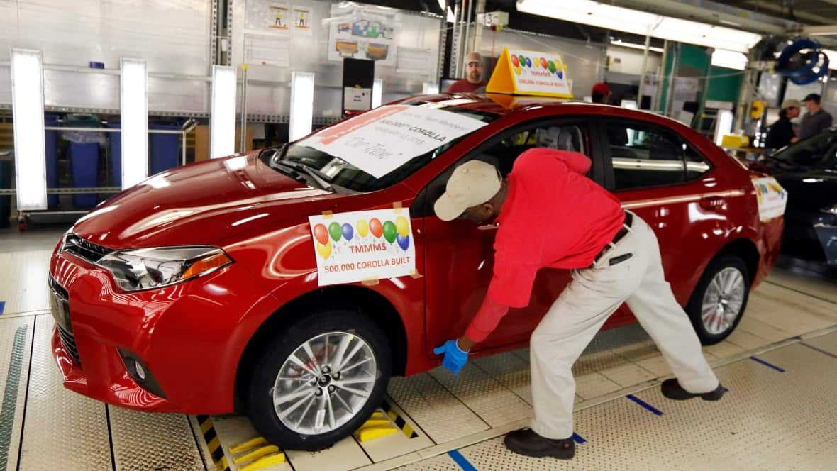 Toyota Moving Corolla Production To Mexico From Ontario Cbc News