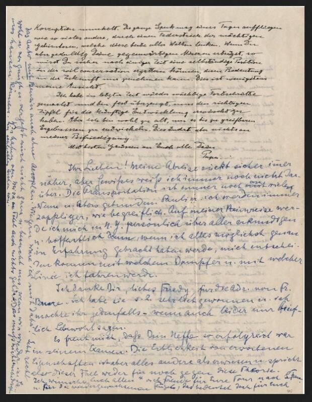 Albert Einstein Personal Letters