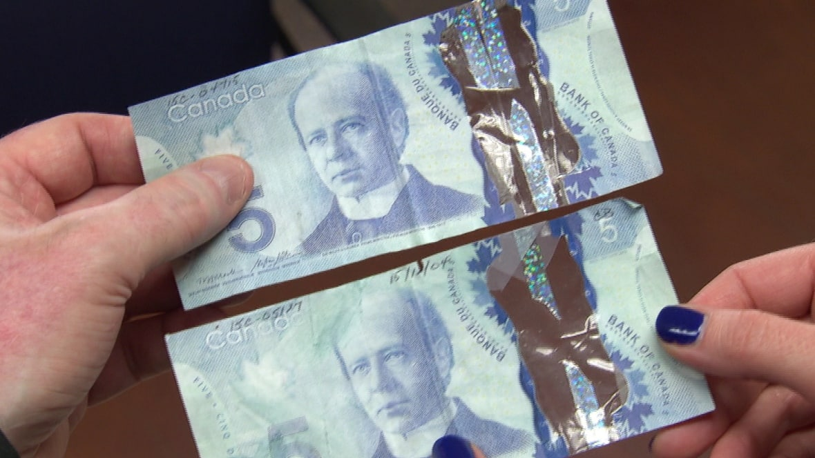 Counterfeiters Perplexed By Canada S Plastic Money Cbc News