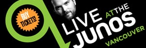 Buy Tickets q live at the Junos