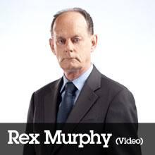 Rex Murphy (Video)