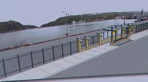 The proposed design for a new fence along the St. John's Harbourfront. CBC.jpg