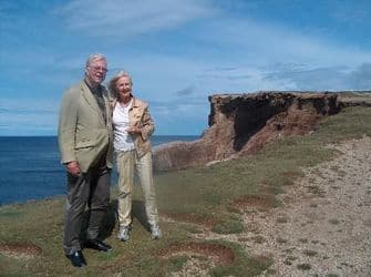 John and Jane Crosbie pictured in Cape St. George. Courtesy of Peter and Jenny Fenwick.jpg