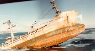 Manolis L sinking  (Maritme History Museum).jpeg